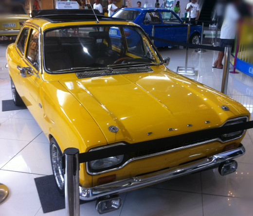 1971 Ford Escort Mexico 2 Door
