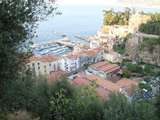 Cliffs of Sorrento