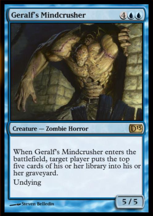 A fun card for devastating a deck