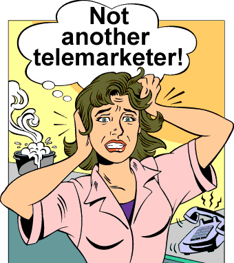 Just read my story and keep your pretty hair. Telemarketers can be dealt with successfully.