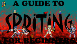 How to Make Your First Video Game Character (Sprite) For Beginners Part 1 Basic Outline