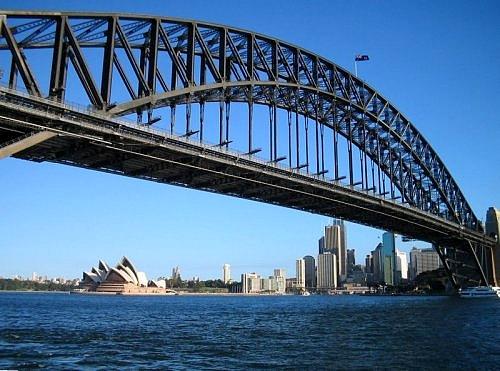 The Famous Coat-hanger in Sydney