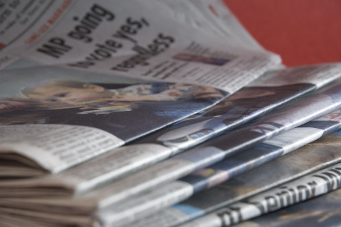 Print and online publications and websites often use press releases as a resource for articles and other content.
