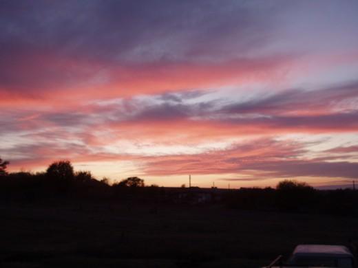 Beautiful Bulgarian Sunset