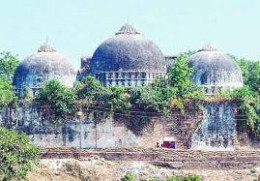 Destruction of Babri Masjid is another issue for Congress
