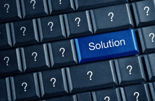 Do you have trouble reading your keyboard? A large print keyboard may be the solution.