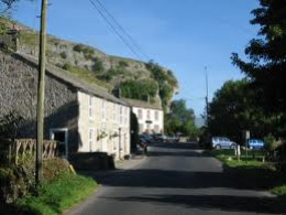 Look! It's still there - more recent view of Kilnsey along the road from Grassington to Kettlewell