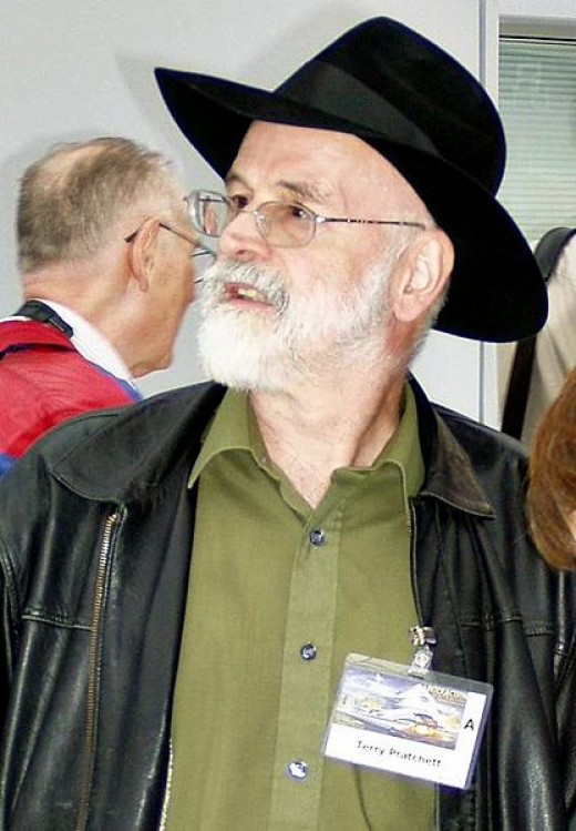 The English fantasy novelist, Terry Pratchett, who sufferes from Alzheimer's disease and has publicly stated that he wishes to commit 'assisted suicide' in advance of his disease reaching a critical point.