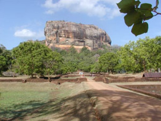 View Towards Sigiriya Rock