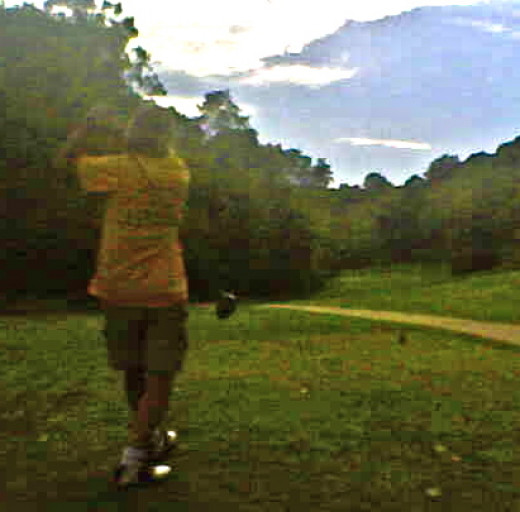 Several holes at at Sugar Bay Golf are tight but scenic.