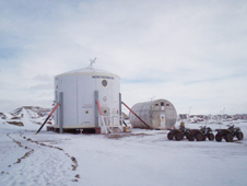 Exploration Analog Antarctica Mission. Individuals are living in isolation in the antarctic ar McMurdo Station to test abilities to survive in deep space.