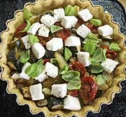 Tomato, Feta and Mint Tart