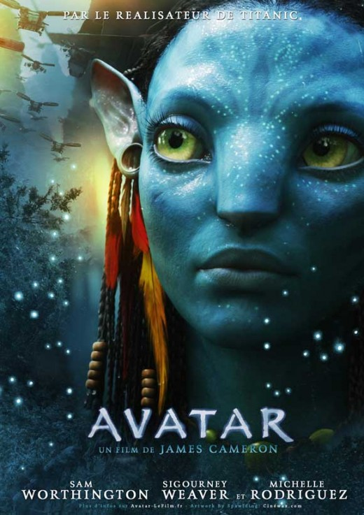 Avatar (2009) French poster