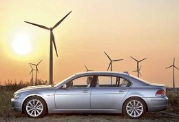 BMW Hydrogen 7 in peace with Mother Earth