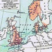Knut's 'empire'- he kept an iron grip on his kingdom across the seas