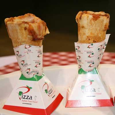 Pizza cones (Indiana)