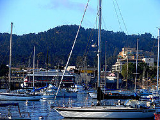 Downtown Monterey and Wharf