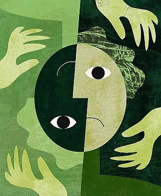 Bipolar artwork.