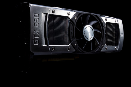 Nvidia GTX 690 - A dual gpu card- Two GK104 - Holds Being the Fastest Card on Planet