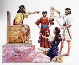 King Solomon - the wisest king that ever lived! (Photo Credit: http://amaic-kingdavid.blogspot.com/)