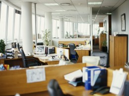 Offer ways to relax for workers that spend long hours seated and looking at monitors.