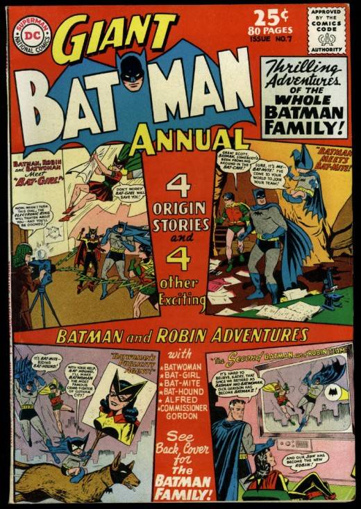 Batman 80 page Giant---The Batman family!