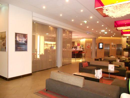 Novotel Montparnasse Foyer and Bar, Paris France