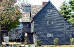 The Corwin House in Salem, MA, home of the Salem Witch Trials