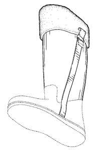 The design protected by the D'188 patent.