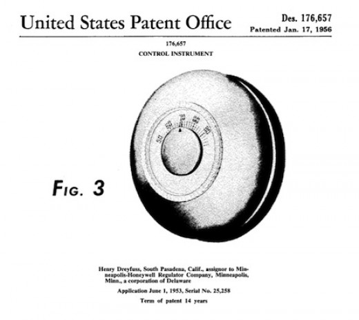 The design protected by the D'657 patent.