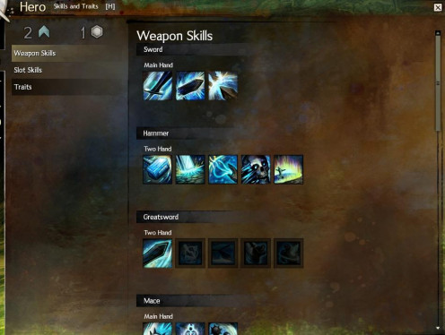 There are many different weapon skills to choose from - trial and error is probably the best way to determine your play-style.