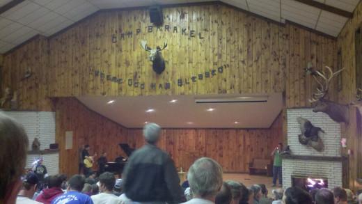 East side chapel at Camp Barakel - 2011 Fall Men's Retreat