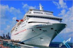 Carnival Imagination docked in Key West, FL