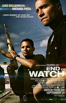 Theatrical Poster for End of Watch