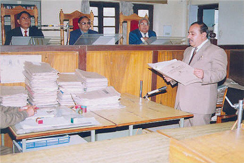 CONSUMER DISPUTE REDRESSAL COMMISSION IN SESSION