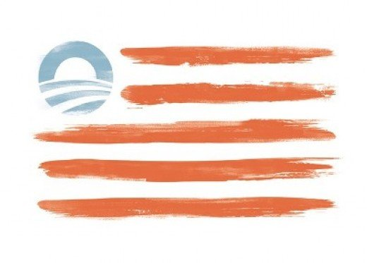 THE OBAMA FLAG IS FOR SALE FOR  $35.00