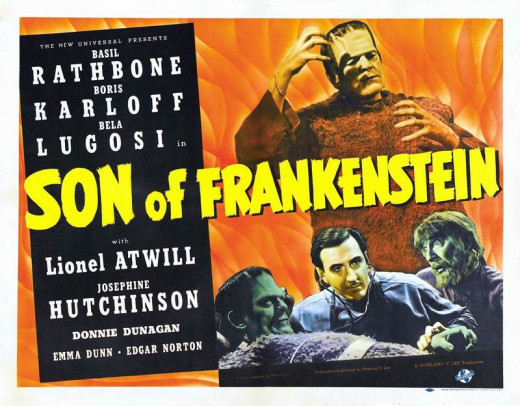 Son of Frankenstein (1939) poster