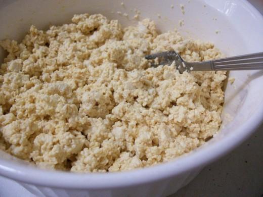 Mashed Tofu