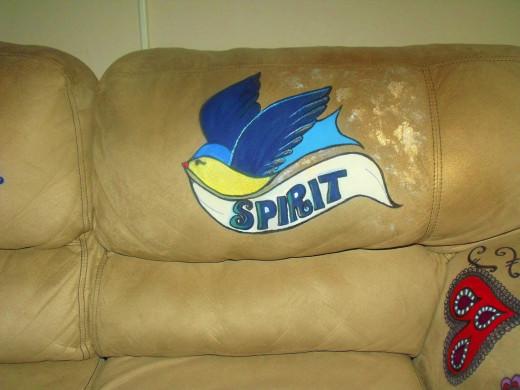 Right back cushion