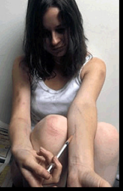Heroin Homeless Heroine