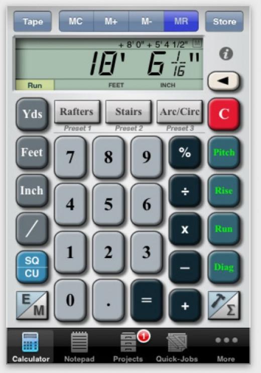Builders Helper - More than just a calculator
