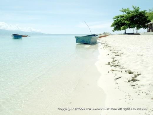 A beach near Puerto Princessa, Palawan, Philippines