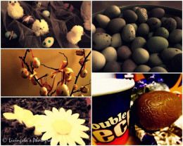 This is a collage of few of the many pictures taken over the Easter period !