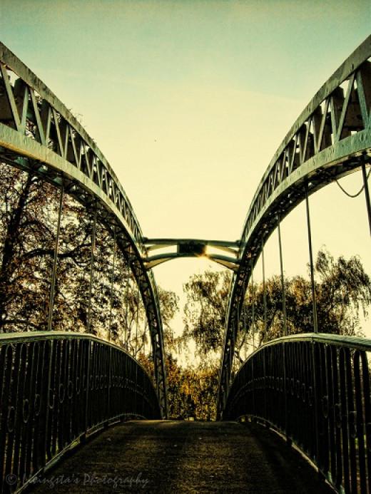 The Suspension Bridge - Bedford UK