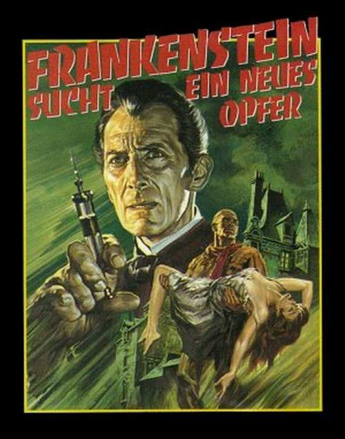 Frankenstein Must be Destroyed (1969) German poster