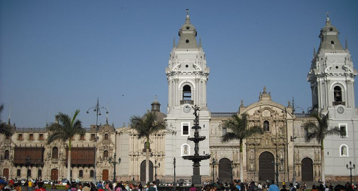 Cathedral and Episcopal Palace of Lima, Peru