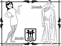 Printable Hotel Transylvania Coloring Pages