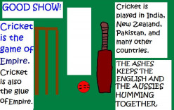 CRICKET - The game of empire.