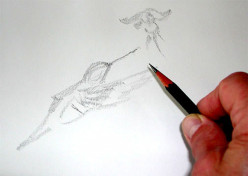 Pencil Sketching - the quick and easy way to learn professional sketching!