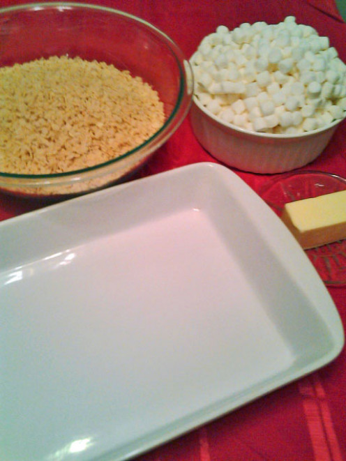 Rice Crispy Treat Ingredients